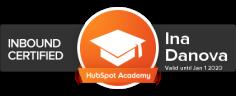 HubSpotInboundMarketingCertified